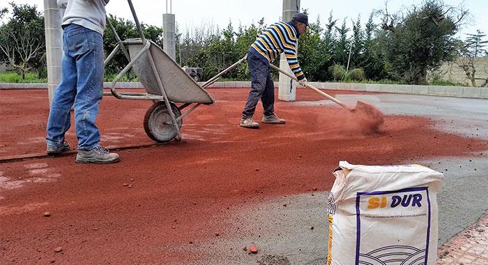 Pavimenti In Cemento Industriale : Pavimenti industriali con finitura a spolvero edil pavi